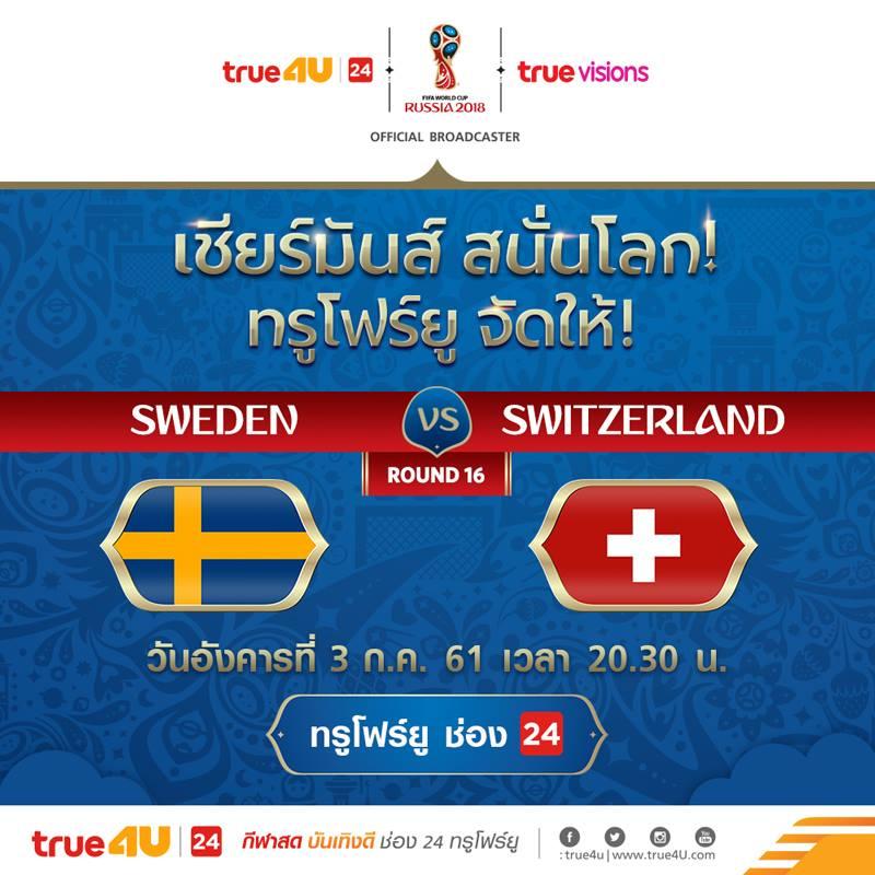 สวีเดิน VS สวิตเซอร์แลนด์
