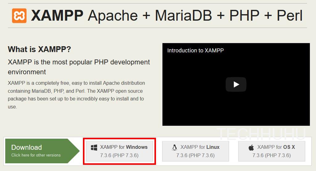 วิธีการติดตั้ง Xampp จำลอง WebServer แบบง่ายๆ | TECHHUHU